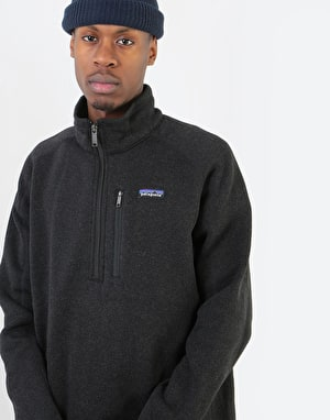 Patagonia Better Sweater® 1/4 Zip - Black