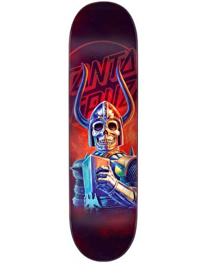 Santa Cruz The Worst Black Falcon Skateboard Deck - 8.5