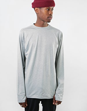 Burton Midweight Crew Thermal Top - Monument Heather