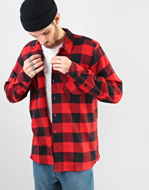 Dickies Long Sleeve Sacramento Shirt - Red