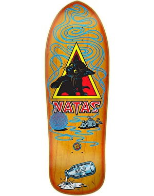 Santa Cruz Natas Kitten Reissue Skateboard Deck - 9.89