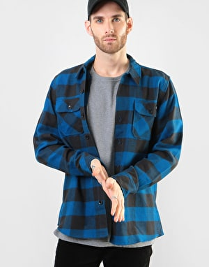 Dickies Long Sleeve Sacramento Shirt - Blue