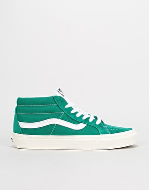 Vans Sk8-Mid Reissue Skate Shoes - (Retro Sport) Cadmium Green