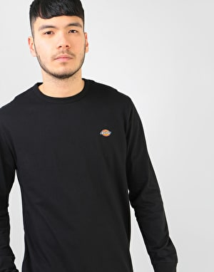 Dickies Long Sleeve Round Rock T-Shirt - Black