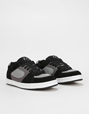 éS Accel OG Skate Shoes - Black/Charcoal