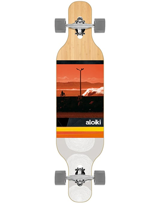 "Aloiki Zunga Drop Through Longboard - 40"" x 9.5"""