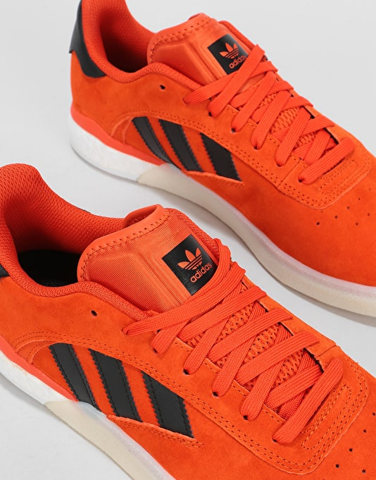 Adidas 3ST.004 Skate Shoes - Collegiate Orange/Core Black/White