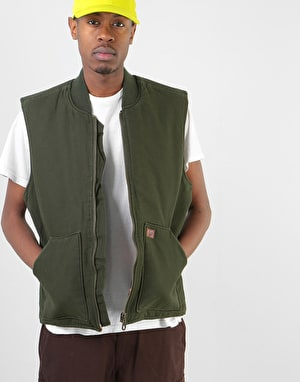 Dickies Calverton Canvas Vest - Olive Green