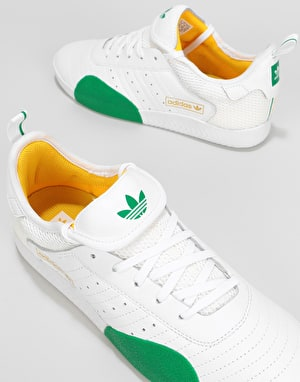 Adidas 3ST.003 x Na-Kel Skate Shoes - White/Green/Gold