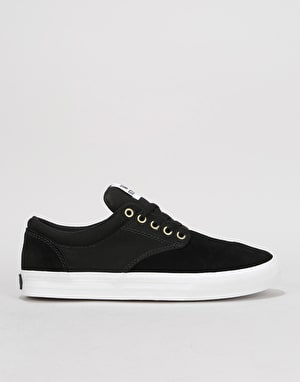 Supra Chino Skate Shoes - Black/White/White
