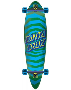 Santa Cruz Illusion Dot Pintail Longboard - 39