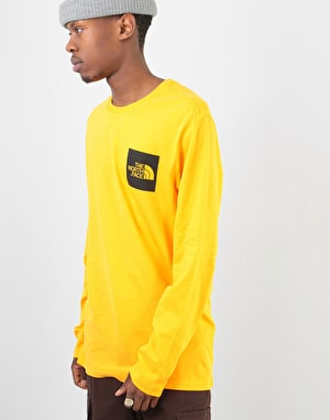 The North Face L/S Fine T-Shirt - Zinnia Orange