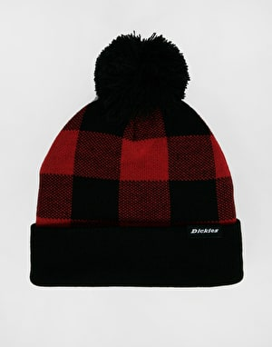Dickies Shawsville Beanie - Red/Black