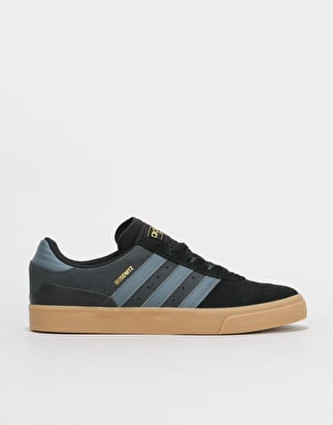 Adidas Busenitz Vulc Skate Shoes - Core Black/Onix/Gum