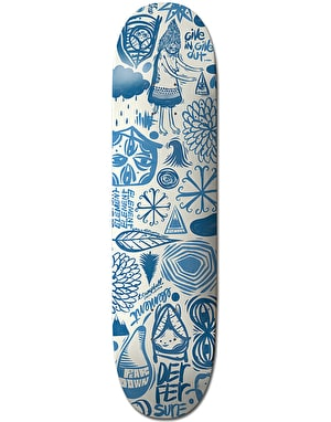 Element x Thomas Campbell Everything Indigo Skateboard Deck - 8
