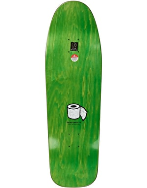 Polar Brady Toilet Skateboard Deck - DANE1 Shape 9.75