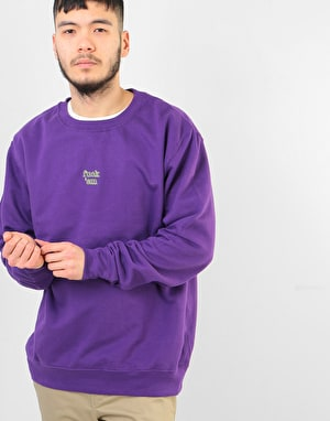 Route One Fuck 'Em Sweatshirt - Purple/Green
