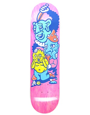 Polar Grund Meltdown Skateboard Deck - 8.125