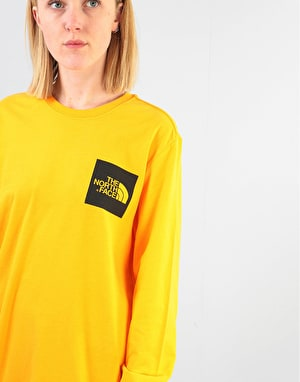 The North Face Womens L/S Fine Oversized T-Shirt - Zinnia Orange