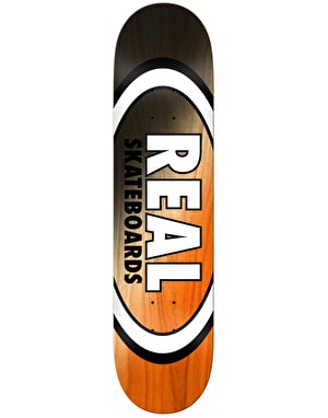 Real Angle Dip Oval Skateboard Deck - 8.125