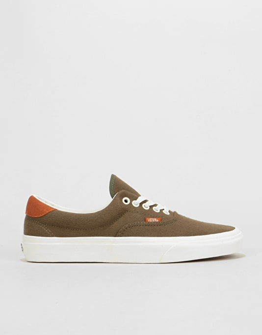 Vans Era 59 Skate Shoes - (Flannel) Dusty Olive  37b1f45fd