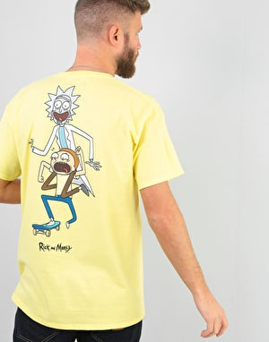 Primitive x Rick & Morty Classic P R&M Skate T-Shirt - Banana