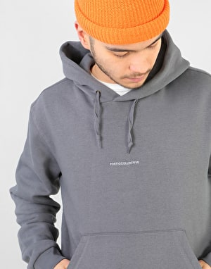 Poetic Collective Paraphrase Pullover Hoodie - Charcoal