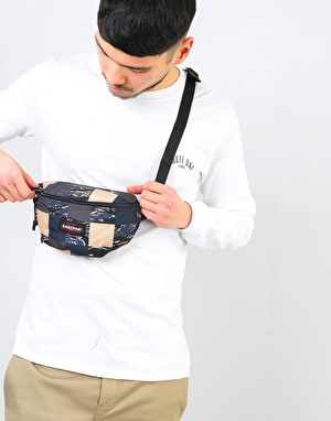 Eastpak Springer Cross Body Bag - Camopatch Navy