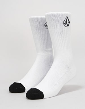 Volcom Full Stone Socks - White