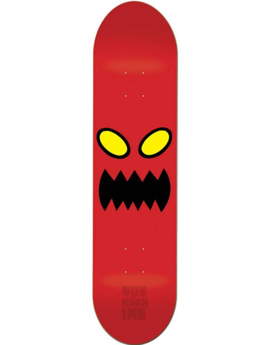 Toy Machine Monster Face Skateboard Deck - 8""