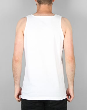 Diamond Supply Co. Brilliant Tank Top - White