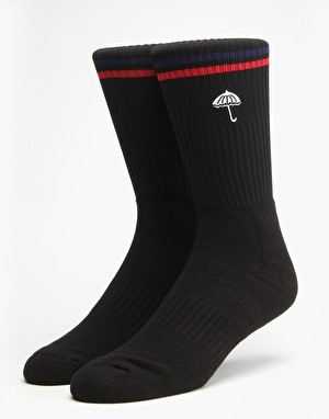 Hélas Court Socks - Black