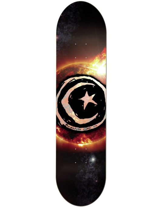 Foundation Star & Moon Sun Flare Team Deck - 8.25""