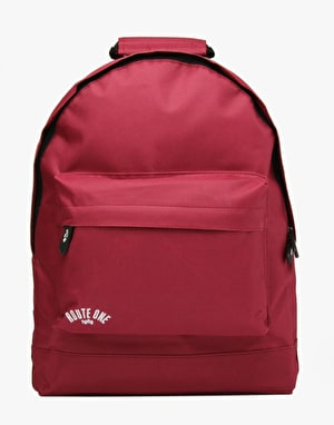 Route One Backpack - Burgundy