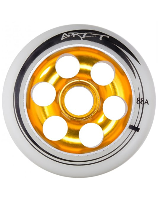 Grit Drilled Alloy Scooter Wheel - 100mm