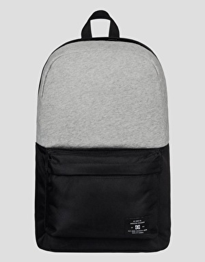 DC Bunker Fabrics Mixed Backpack - Heather Grey