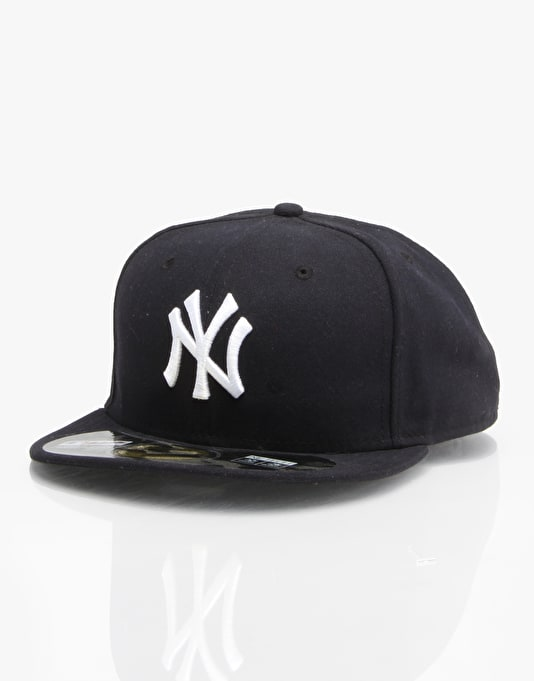 New Era 59Fifty MLB New York Yankees Fitted Cap - Navy/White