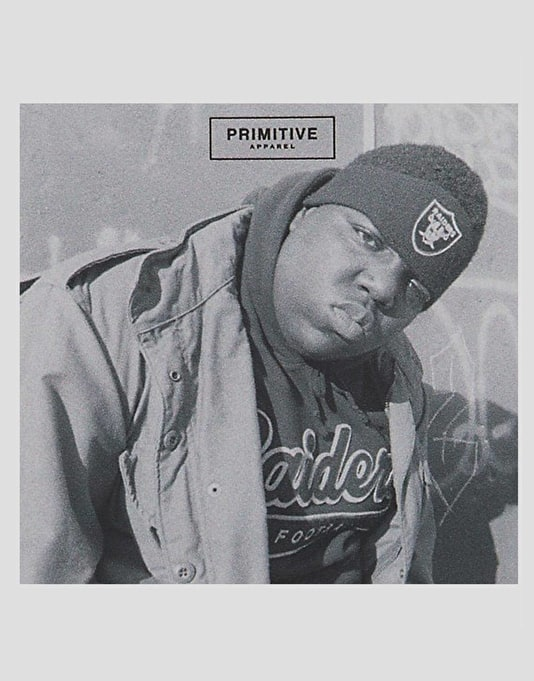 Primitive x Notorious B.I.G. Biggie Raiders Sticker