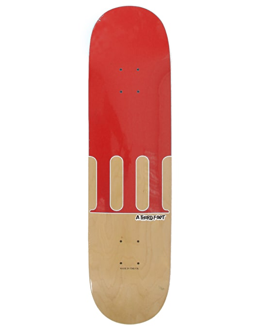 A Third Foot Numeral Team Deck - 7.75""