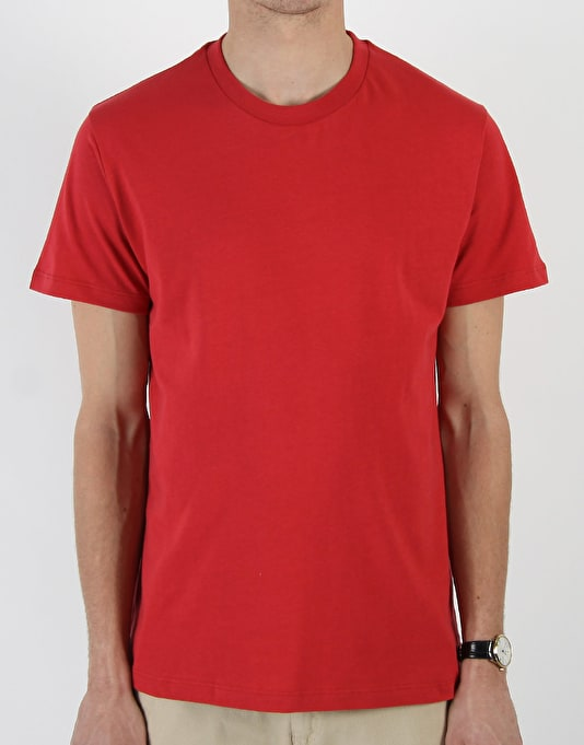 Route One Basic T-Shirt- Burgundy