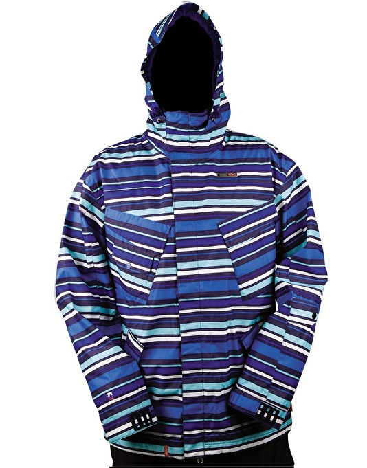Foursquare Fabian Snow Jacket - Night Fly Polo