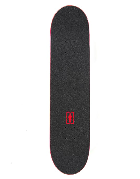 Chocolate Anderson Fluoro Chunk Complete Skateboard - 7.5""