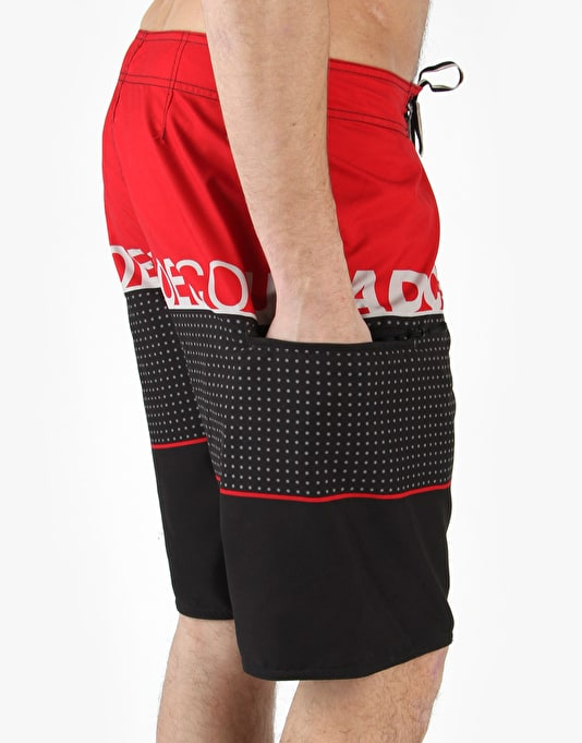 DC Released Boardshorts - Red
