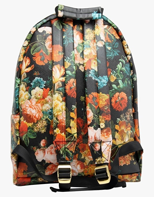 Mi-Pac Bloom Backpack - Black/Orange