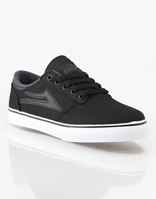 Lakai Brea Boys Skate Shoes - Black
