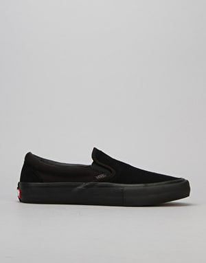 Vans Slip-On Pro Skate Shoes - Blackout