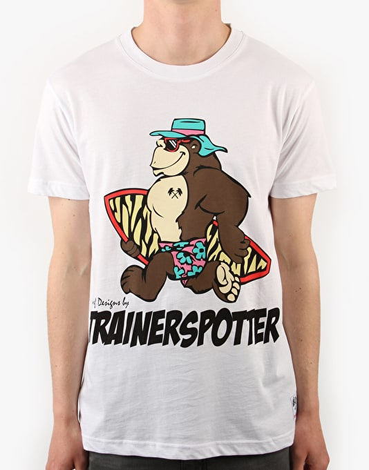 Trainerspotter Surfing Ape T-Shirt