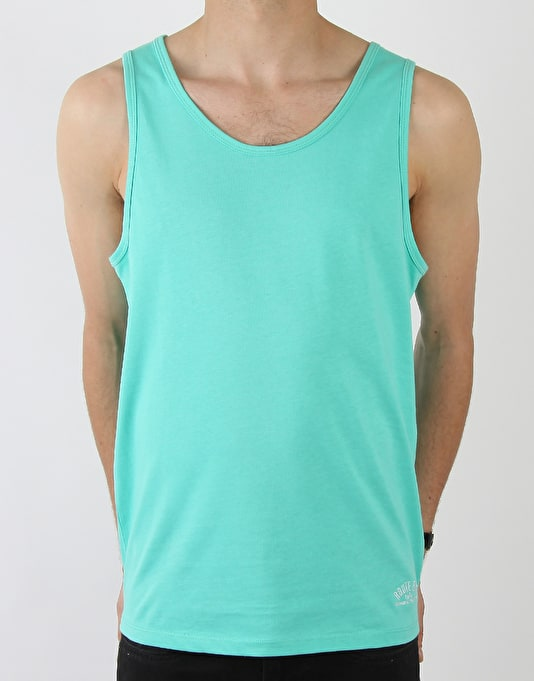 Route One Basic Vest - Light Green