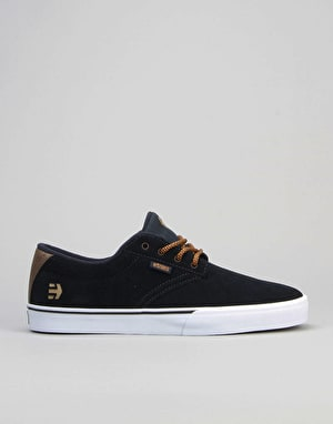 Etnies Jameson Vulc Skate Shoes - Navy/Brown/White