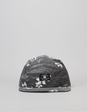 DC Cruiser Camper 5 Panel Cap - Black
